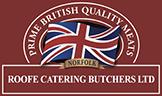 Roofe Catering Butchers Ltd Logo